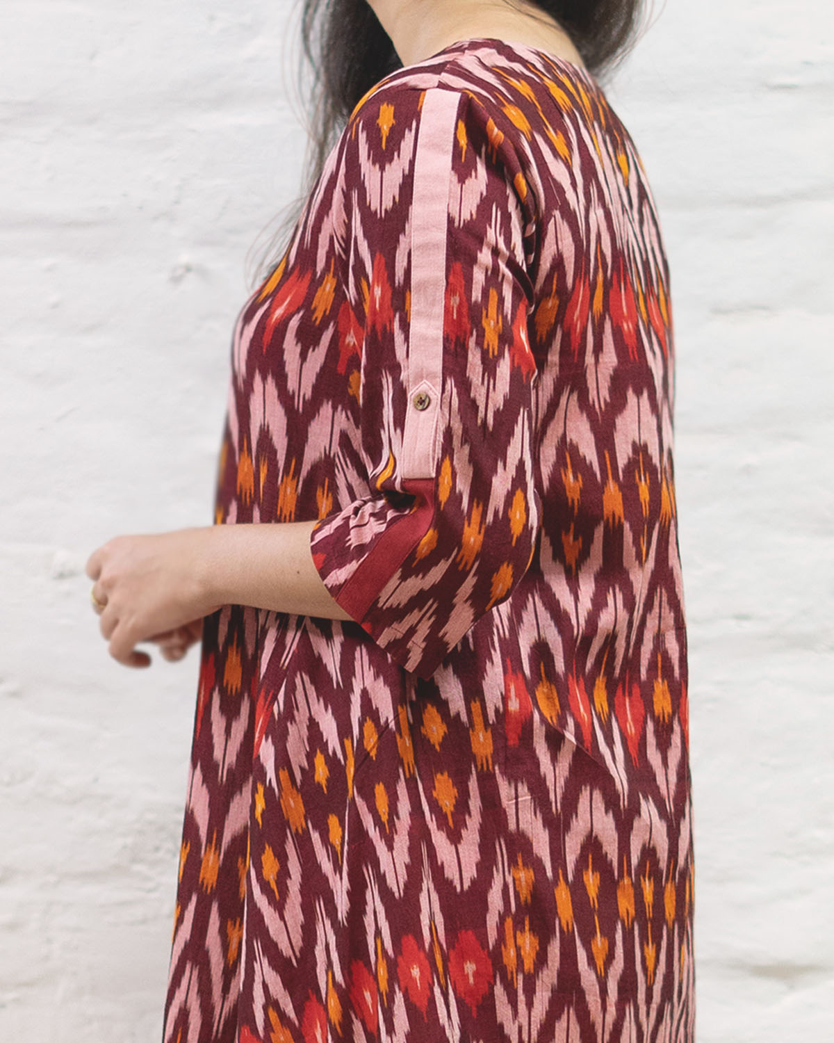 catalog/AA-Summer Musings/burgundy Ikat 3.jpg