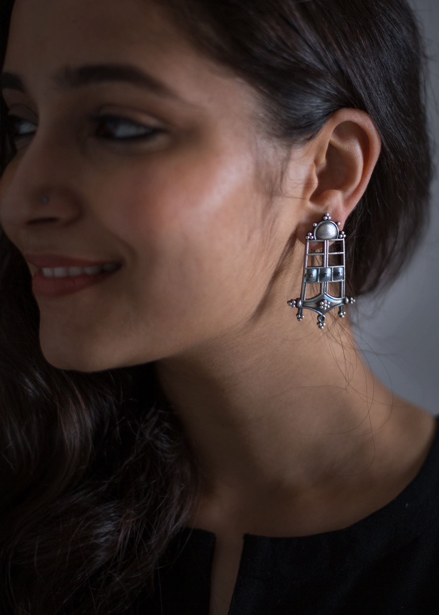The Sanchi Earrings