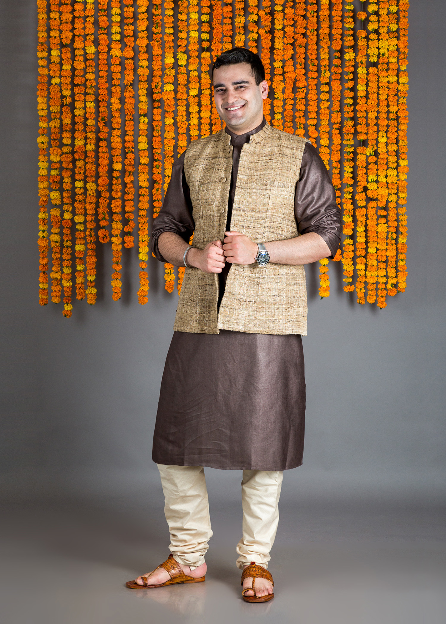 catalog/Festive 2018/brown kurta w jacket 1.jpg