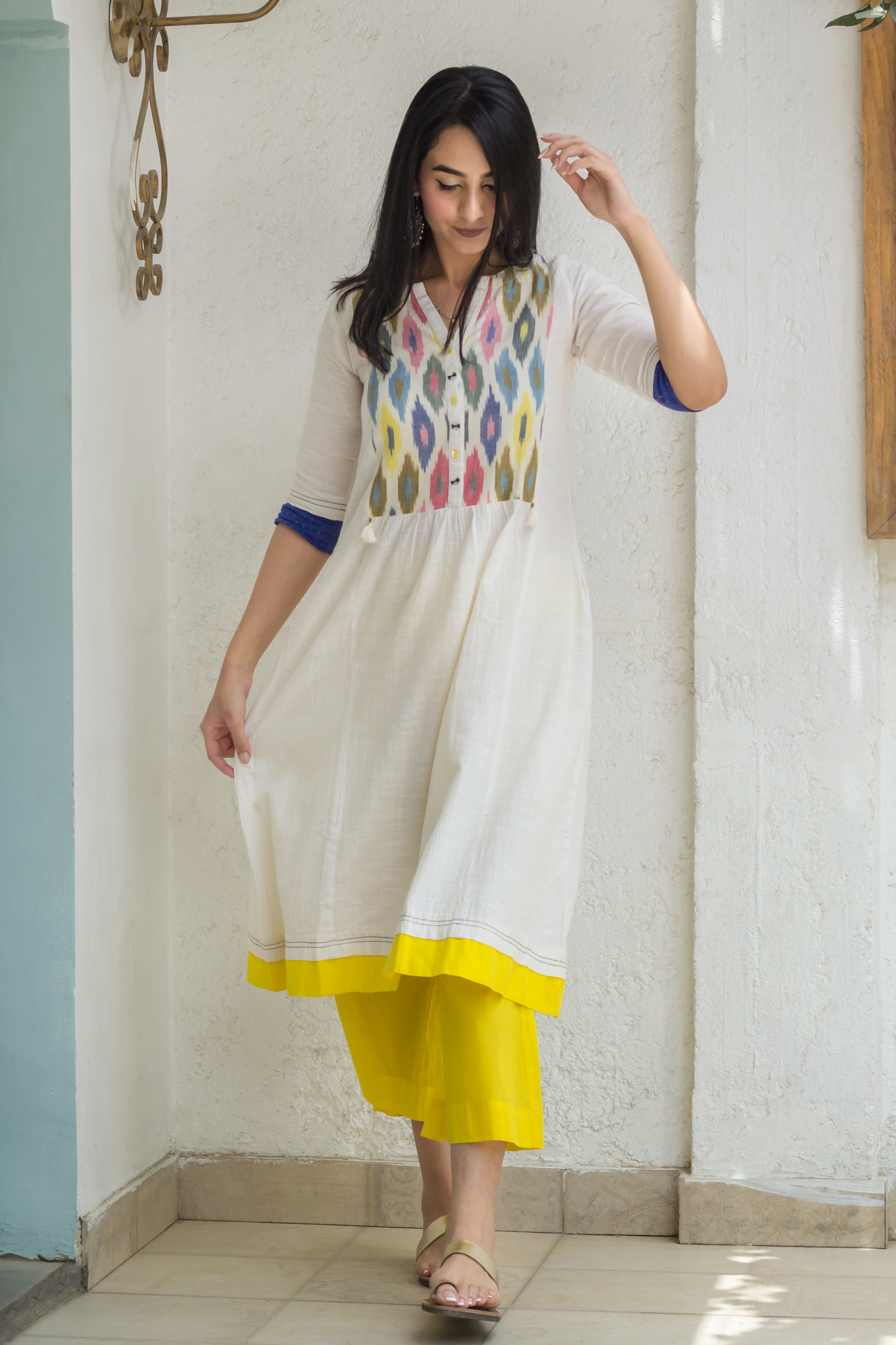 The Candy Floss Kurta - Vaaya Classics