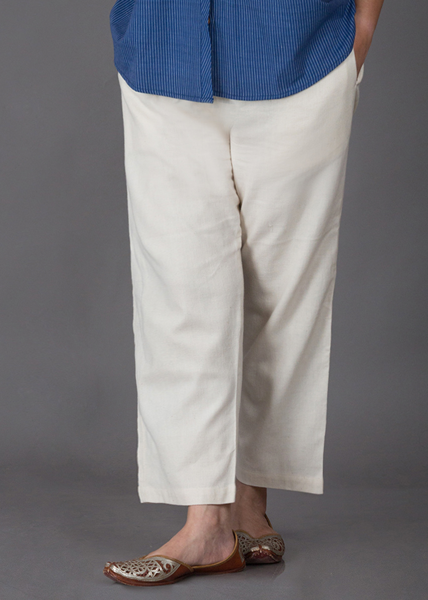 Handwoven Cotton Loose Pants